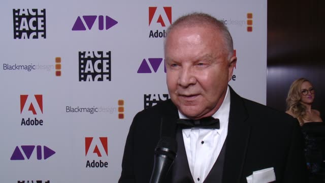 INTERVIEW Leon OrtizGil on the event at 68th Annual ACE Eddie Awards in Los Angeles CA