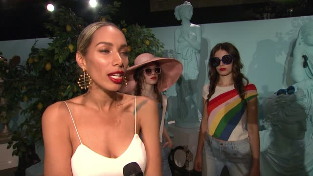 "INTERVIEW Leona Lewis on how excited she was to hear that Alice Olivia were coming out with an eyewear line at Alice Olivia by Stacey Bendet ""Eyewear..."