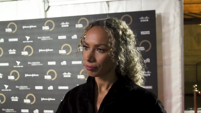 leona lewis on the importance of being a global citizen, specific issues on ending poverty, and who they're looking forward to seeing perform at... - global stock videos & royalty-free footage