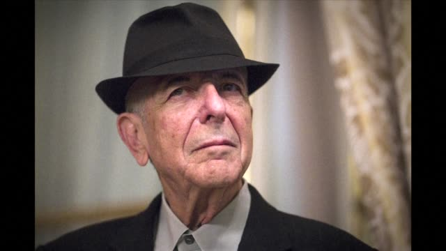 stockvideo's en b-roll-footage met leonard cohen the storied musician and poet hailed as one of the most visionary artists of his generation has died at age 82 his publicist announces - publiciteitsmedewerker
