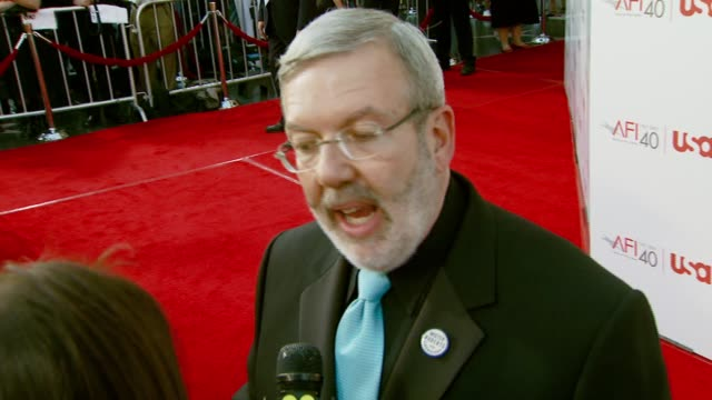 leonard maltin at the al pacino honored with 35th annual afi life achievement award at the kodak theatre in hollywood, california on june 7, 2007. - afi life achievement award stock videos & royalty-free footage