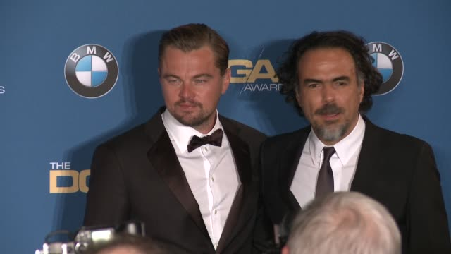 Leonardo DiCaprio Alejandro Gonzalez Inarritu at 68th Annual Directors Guild Of America Awards in Los Angeles CA