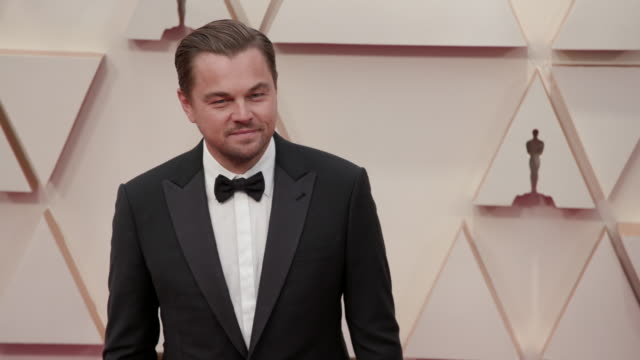 leonardo dicaprio at dolby theatre on february 09, 2020 in hollywood, california. - leonardo dicaprio stock videos & royalty-free footage