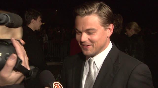 Leonardo DiCaprio at the 2009 Palm Springs International Film Festival at Los Angeles CA