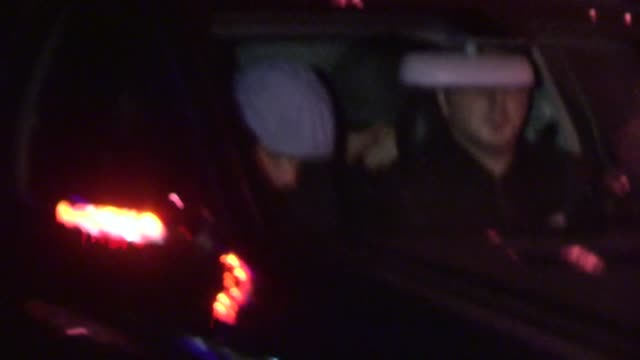 leonardo dicaprio & lukas haas sneak out of vignette in west hollywood, 02/20/13 - vignette stock videos & royalty-free footage