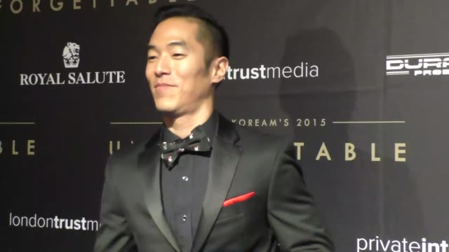 Leonardo Nam at the Audrey and KoreAm 2015 Unforgettable Gala at The Beverly Hilton Hotel in Beverly Hills at Celebrity Sightings in Los Angeles on...
