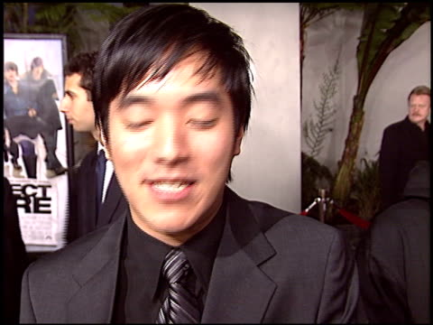 leonardo nam at the premiere of 'the perfect score' at the cinerama dome at arclight cinemas in hollywood, california on january 27, 2004. - arclight cinemas hollywood stock videos & royalty-free footage