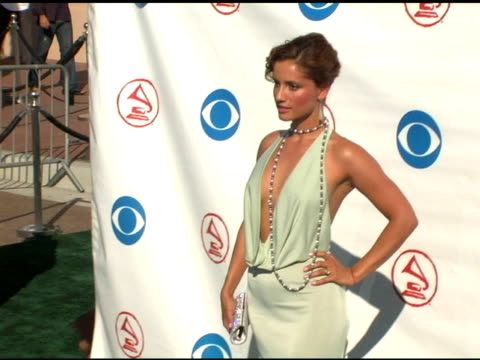 leonore varela at the 2004 latin grammy awards arrivals at the shrine auditorium in los angeles, california on september 1, 2004. - latin grammy awards stock videos & royalty-free footage