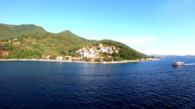 lepetane - kotor bay, montenegro - perast stock videos and b-roll footage