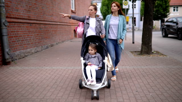 lesbian couple and their child - human rights stock videos and b-roll footage