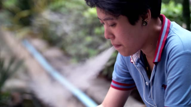 lesbian disappointed are smoking nervously - cigarette stock videos & royalty-free footage