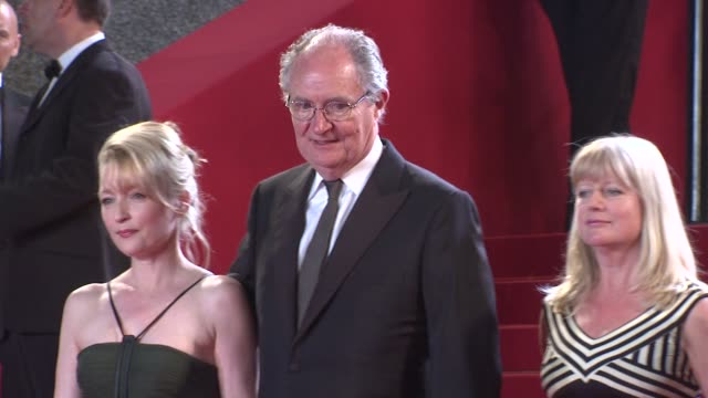Lesley Manville Jim Broadbent and Georgina Lowe at the Another Year Premiere Cannes 2010 Film Festival at Cannes