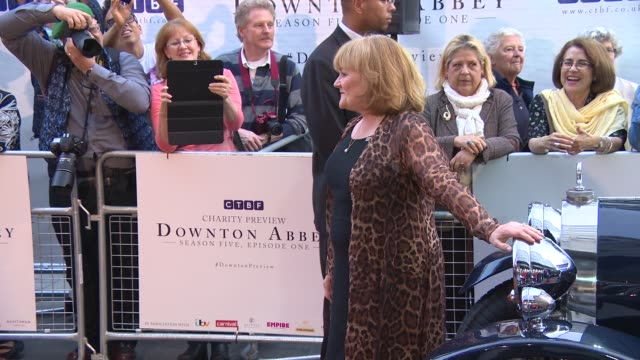 Lesley Nicol at 'Downton Abbey' Exclusive Charity Preview
