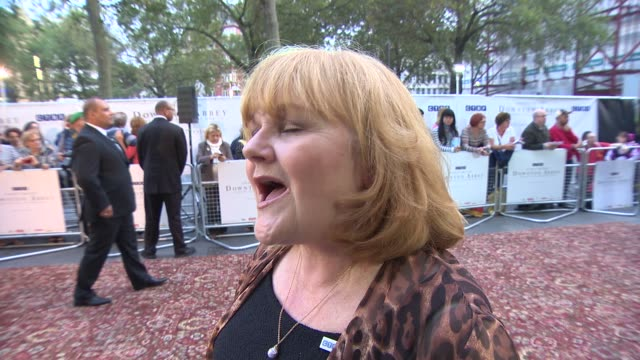 INTERVIEW Lesley Nicol on George Clooney and the new series of Downton Abbey at 'Downton Abbey' Exclusive Charity Preview