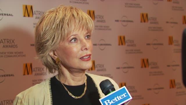 lesley stahl at the 2009 matrix awards at new york ny - stahl stock videos & royalty-free footage