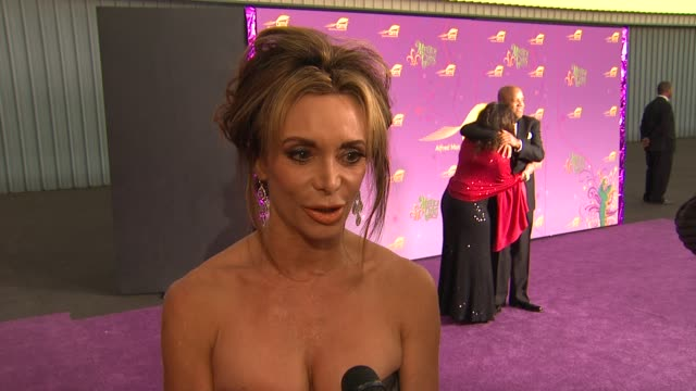 Lesley Vogel on what brings her out what happened to her daughter Hayden Panettiere how it happened how long recovery will be at the The Alfred Mann...