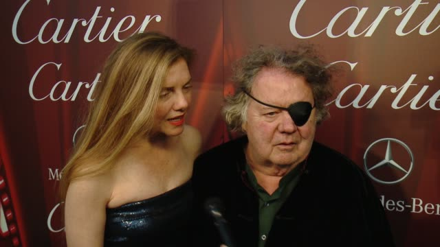INTERVIEW – Leslie Chihuly and Dale Chihuly on designing the gala's award at the 26th Annual Palm Springs International Film Festival Awards Gala...