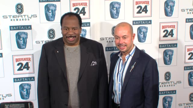 leslie david baker guest at the bafta la's 16th annual awards season tea party at beverly hills ca - bafta la tea party stock videos and b-roll footage