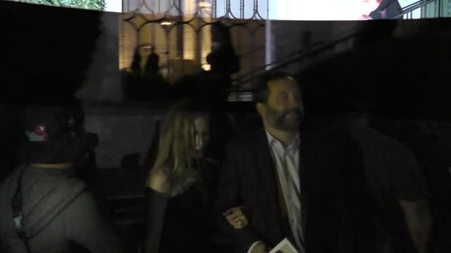 Leslie Mann and Judd Apatow leave Porter Incredible Women Gala 2018 at The Ebell of Los Angeles on October 09 2018 at Celebrity Sightings in Los...