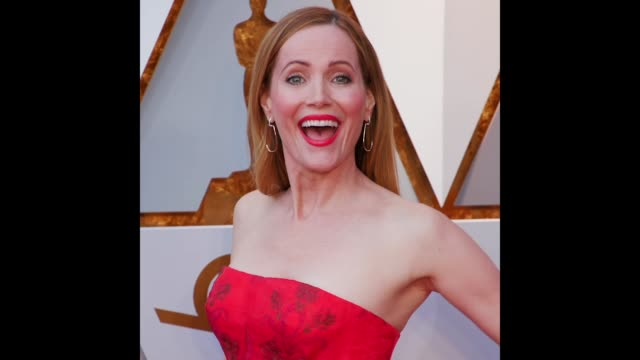 Leslie Mann at the 90th Academy Awards