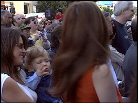 leslie zemeckis at the dediction of robert zemeckis' walk of fame star at the hollywood walk of fame in hollywood california on november 5 2004 - robert zemeckis stock videos and b-roll footage