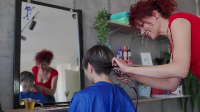 less hair more fun - hair clipper stock videos & royalty-free footage