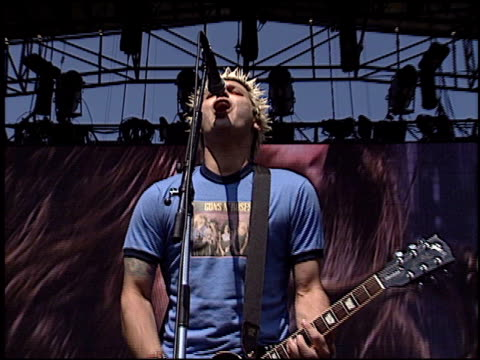 less than jake at the 2003 kroq weenie roast at verizon amphitheater in irvine california on june 14 2003 - kroq weenie roast stock videos & royalty-free footage