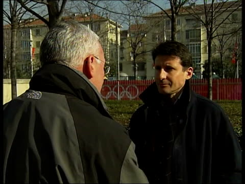 lessons to be learnt by london 2012 olympic team italy turin ext lord coe interviewed sot help from ioc been to london a number of times chance to... - double chance stock videos & royalty-free footage
