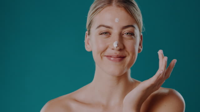 let me share my biggest beauty tip with you! - skin feature stock videos & royalty-free footage