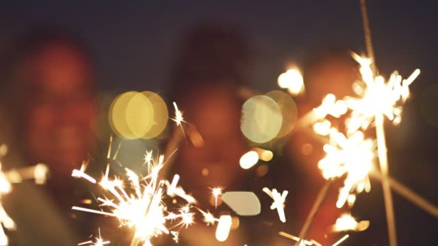 let nothing dim your light in life - sparkler stock videos & royalty-free footage