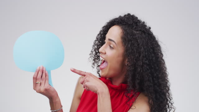 let yourself be heard - speech bubble stock videos & royalty-free footage