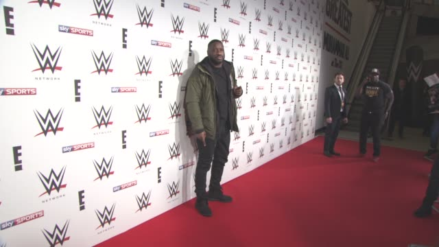 Lethal Bizzle at WWE RAW Pre Show Party on April 18 2016 in London England