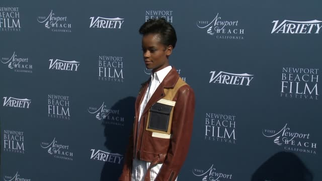 letitia wright at newport beach film festival fall honors variety 10 actors to watch at the resort at pelican hill on november 11 2018 in newport... - letitia wright stock videos and b-roll footage