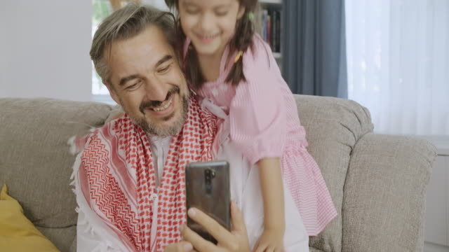 let's make a funny face. - middle east stock videos & royalty-free footage