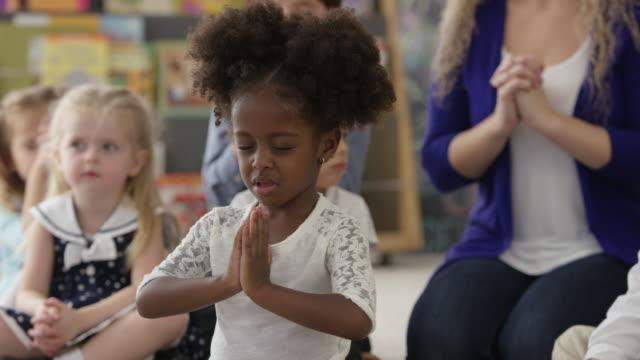 let's pray - preschool building stock videos & royalty-free footage