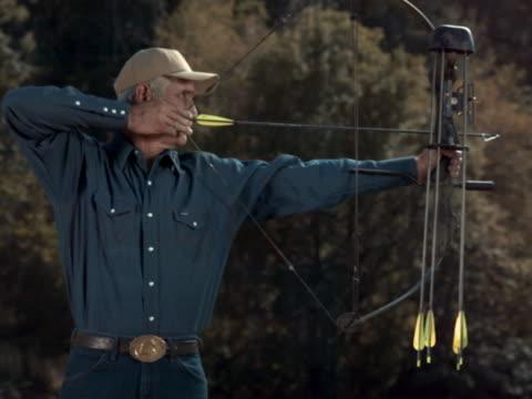 letting an arrow fly - arrow bow and arrow stock videos & royalty-free footage