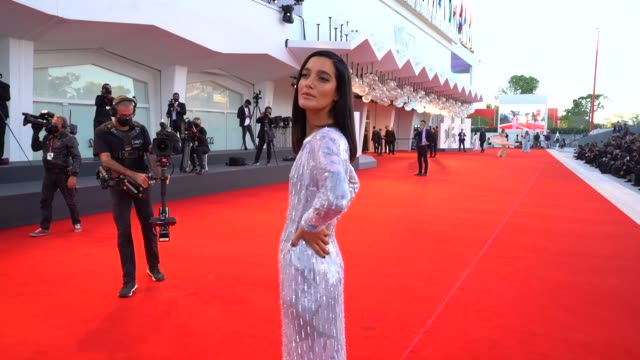 ITA: 'Notturno' Red Carpet Arrivals, 77th Venice Film Festival""