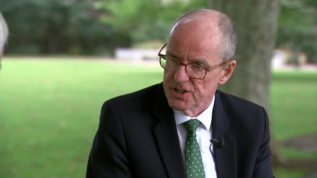 level results controversy: government turned down opportunity for model to be scrutinized; england: london: westminster: ext nick gibb mp interview... - general certificate of secondary education stock videos & royalty-free footage