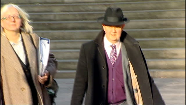 Leveson inquiry into media ethics and phone hacking Editor of Private Eye gives evidence ENGLAND London High Court EXT Ian Hislop leaving Leveson...