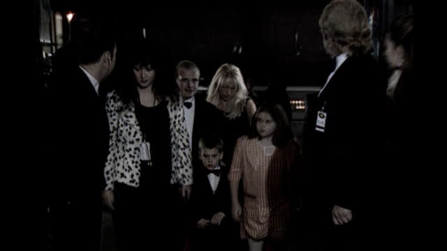 leveson inquiry into media ethics and phone hacking more evidence heard r04129601 paul gascoigne and sheryl gascoigne and children arriving for... - sheryl gascoigne stock videos and b-roll footage