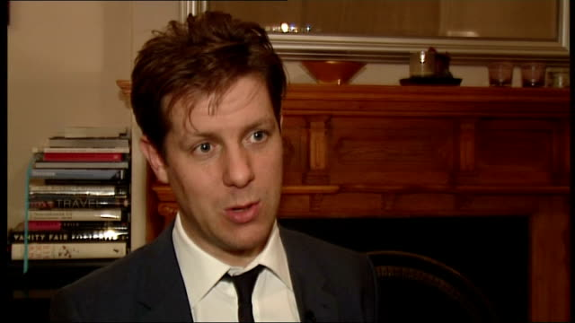 leveson inquiry report due to be published 'the spectator' on newsstand with other magazines fraser nelson interview sot reporter to camera - magazine stock videos & royalty-free footage