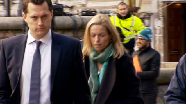 report published victims of media intrusion ext kate mccann along - kate mccann stock videos & royalty-free footage