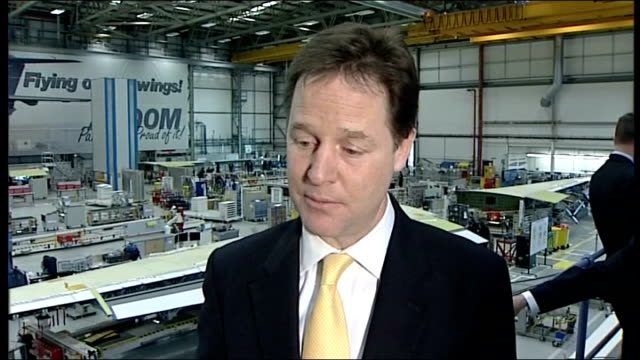 main political parties reach agreement on new system of press regulation int david cameron mp interview sot everyone has accepted my argument for a... - main tower stock-videos und b-roll-filmmaterial