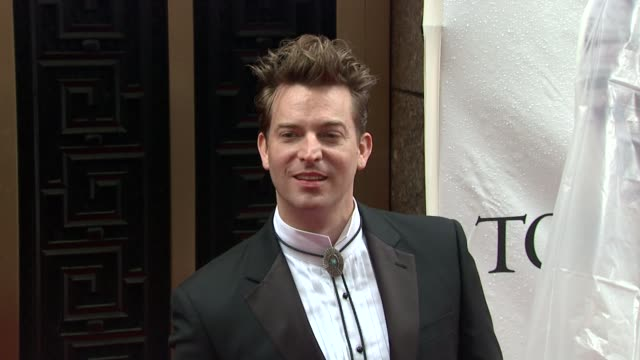 levi kreis at the 64th annual tony awards at new york ny. - levi's stock videos & royalty-free footage