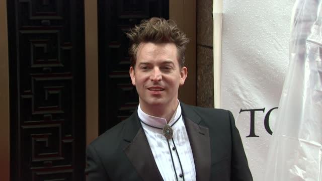 Levi Kreis at the 64th Annual Tony Awards at New York NY