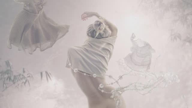levitate dresses - levitation stock videos & royalty-free footage