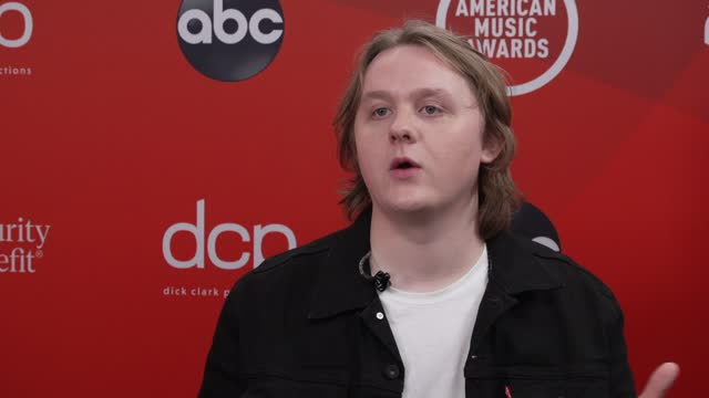 lewis capaldi on performing and the event at microsoft theater on november 20, 2020 in los angeles, california. - microsoft theater los angeles stock videos & royalty-free footage