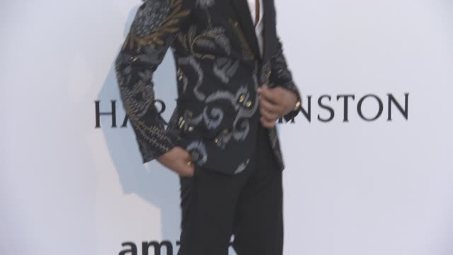 Lewis Hamilton at amfAR's 23rd Cinema Against AIDS Gala Arrivals at Hotel du CapEdenRoc on May 19 2016 in Cap d'Antibes France