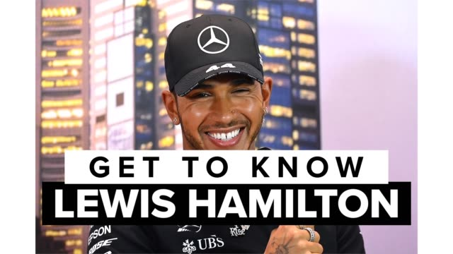 lewis hamilton is a british race car driver who competes for the mercedes-amg petronas formula one team. get to know one of the best formula one... - formula one racing stock videos & royalty-free footage