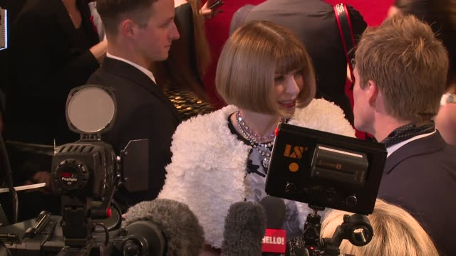 lewis hamilton nicole scherzinger anna wintour at the british fashion awards 2014 on 1st december 2014 in london england - lewis hamilton nicole scherzinger stock videos and b-roll footage